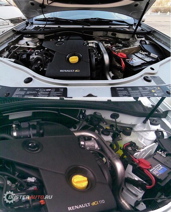 дизельный двигатель Рено Дастер