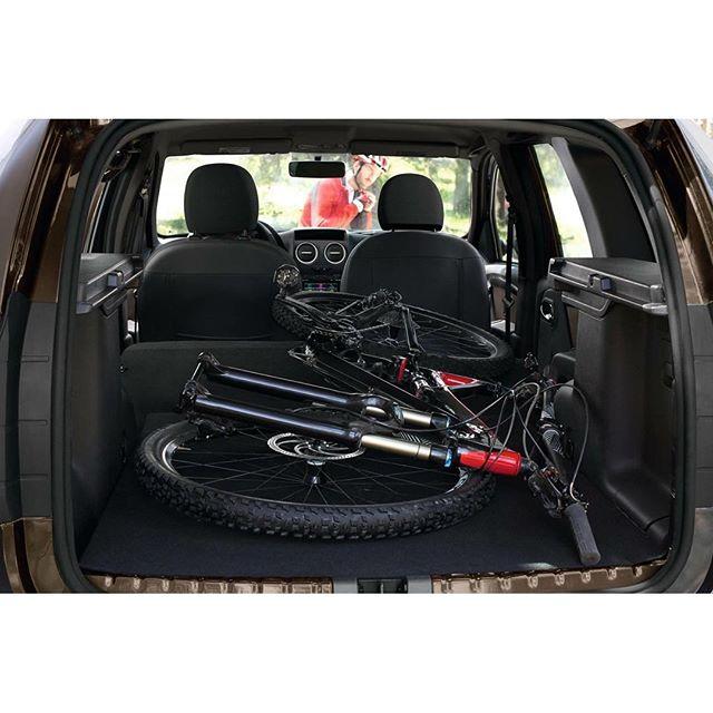 велосипед в багажнике рено дастер