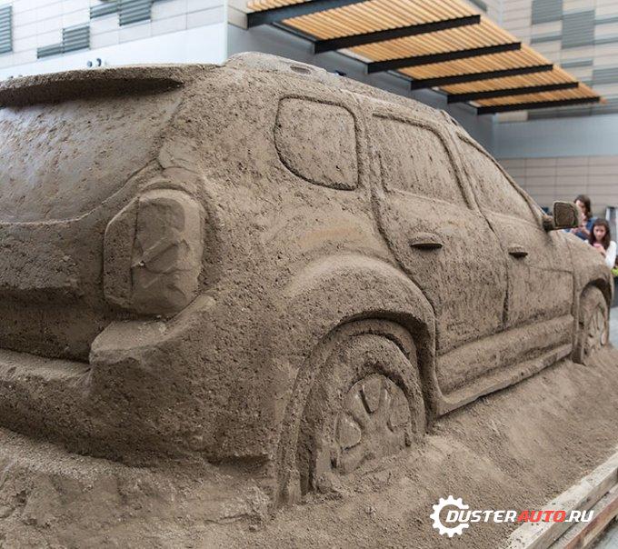 Дастер Дакар из песка