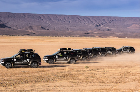 фото Дастеры в пустыне