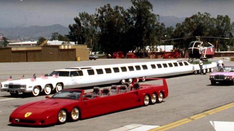 фото длинного лимузина