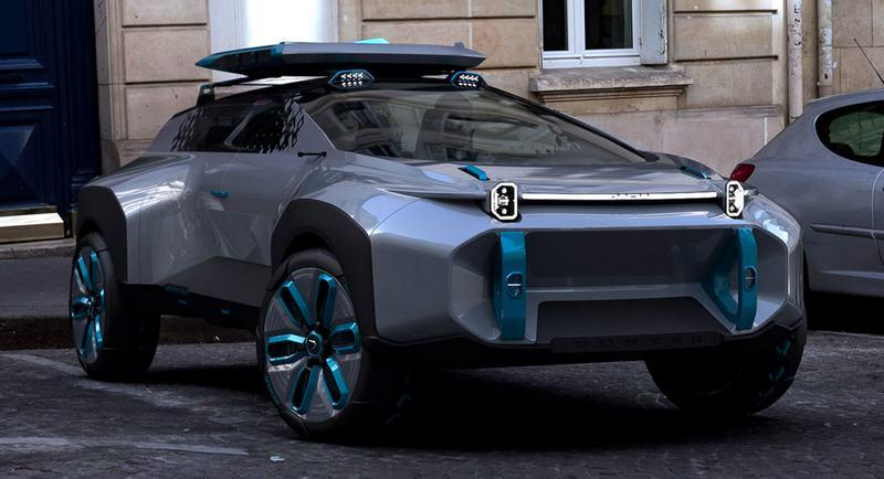 Концепт Renault Dacia Duster 2020