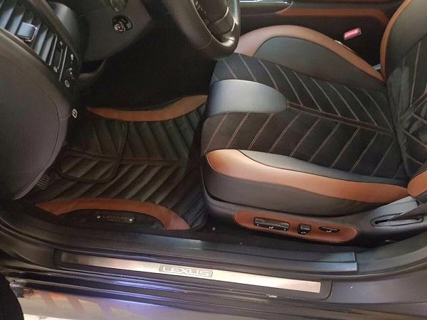 Грамотно выполненная обтяжка салона авто